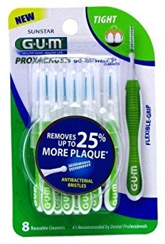 Special pack of 6 -GUM GO BETWEEN CLEANER TIGHT 8CT SUNSTAR AMERICAS