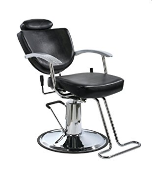 All Purpose Hydraulic Recline Barber Chair, Shampoo