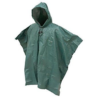 Frogg Toggs FTP1714-09 Action Poncho, Green