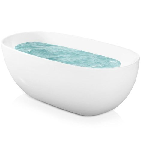 Free Standing Tub Size. AKDY introduces another model of a freestanding tub which is the F277  Bathroom White Color Free Standing Acrylic Bathtub This product slightly smaller Best Freestanding Tub 2017 Reviews Guatemala Times