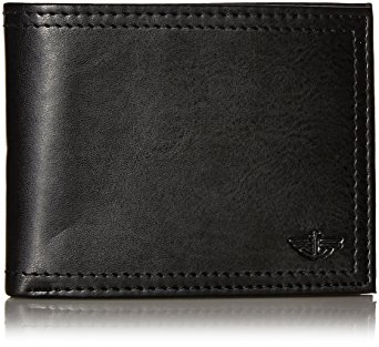 Dockers Men's Extra Capacity Leather Bifold Wallet