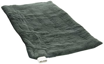 Sunbeam 002013-912-000 King Size XpressHeat Heating Pad, Green , 12 x 24-inches