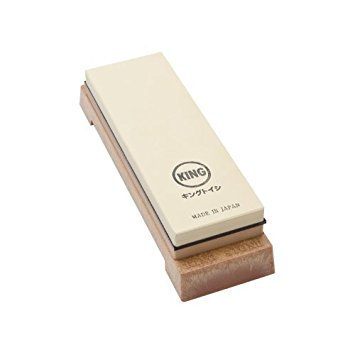 KING Japanese Sharpening Stone Whetstone Combination Grit, 1000/6000