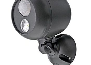 Mr Beams MB360 Wireless LED Spotlight with Motion Sensor and Photocell - Weatherproof - Battery Operated - 140 Lumens