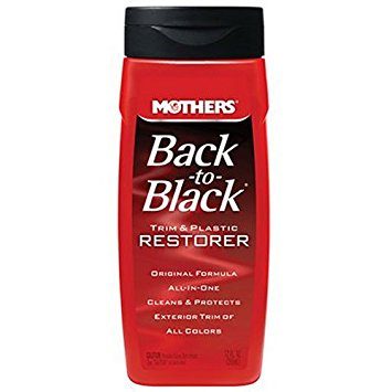 Mothers 06112 Back-to-Black Plastic and Trim Restorer - 12 oz.