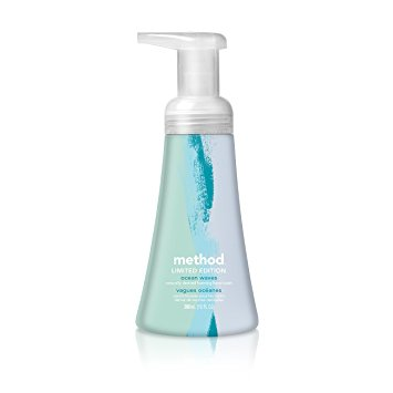 Method Naturally Derived Foaming Hand Wash, Ocean Waves, 6 Count