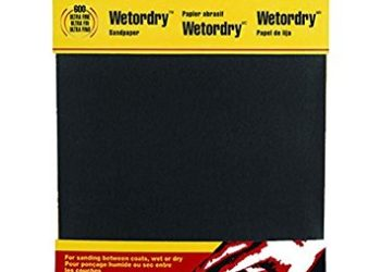 3M Wetordry Sandpaper, 9-Inch by 11-Inch, Assorted Grit, 5-Sheet