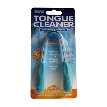 Dr. Tung's Stainless Steel Tongue Cleaner 1 ea colors may vary (pack of 2)