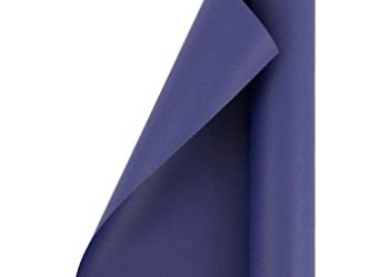 JAM Paper® Solid Color Wrapping Paper - 25 Sq Ft - Matte Cobalt Blue - Matte Wrapping Paper Roll - Sold Individually