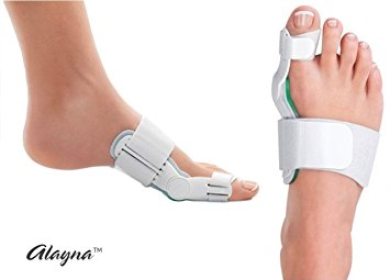 Bunion Corrector and Bunion Splint for Bunion Relief - Bunion Toe Straighteners and Bunion Pads - Relieve Hallux Valgus Foot Pain and Soothe Sore Bunions