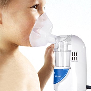 Uniclife Handheld Inhaler / Portable Personal Cool Mist Inhaler / Ultrasonic Aromatherapy Essential Oil Humidifier