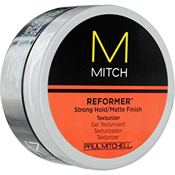 Paul Mitchell Men by Paul Mitchell Mitch Reformer Strong Hold/Matte Finish Texturizer for Men, 3 Ounce