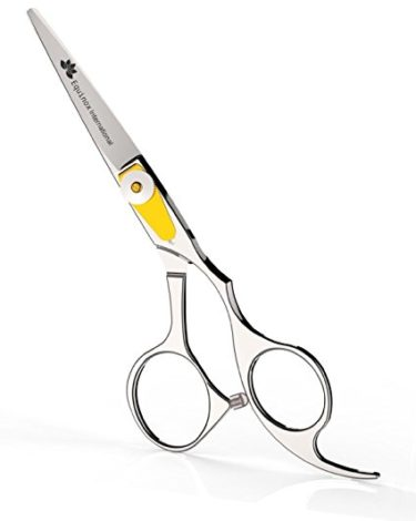 """Equinox Professional Razor Edge Series - Barber Hair Cutting Scissors/Shears - 6.5"""" Overall Length with Fine Adjustment Tension Screw - Japanese Stainless Steel - Lifetime Guarantee!"""