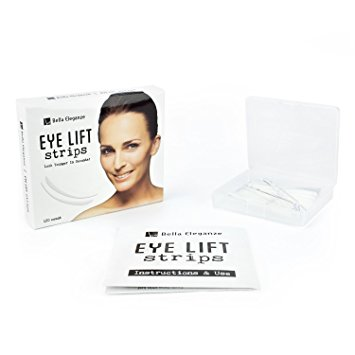 Bella Eleganze Beauty Eyelid Tape Instant Eye Lift Without Surgery - Achieve Big Beautiful Eyes & Youthful Lids120 Strips Medical Grade Latex Free Hypoallergenic - Small 3mm x 26mm