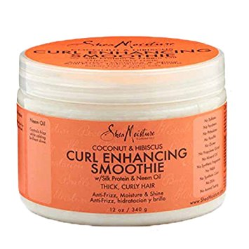 Shea Moisture Coconut and Hibiscus Curl Enhancing Smoothie, 12 oz.