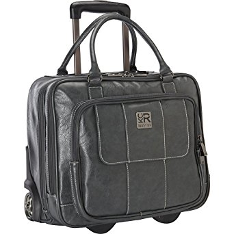 Kenneth Cole Reaction Casual Fling Computer Overnighter Travel Totes, Charcoal