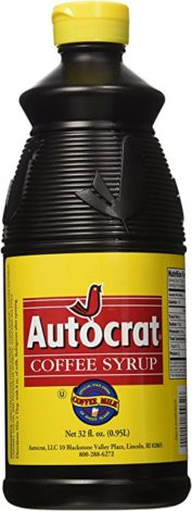 Autocrat Coffee Syrup Coffee