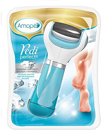 Amopé Pedi Perfect Electronic Foot File with Diamond Crystals