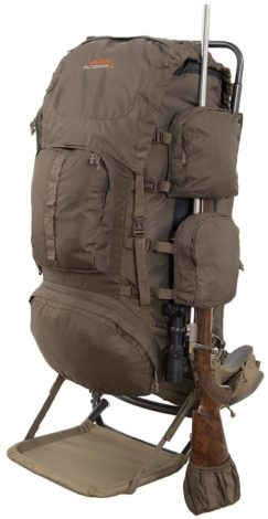 the alps outdoorz commander pack bag is a unique external frame backpack because its intended for hunters it has a specialized fastening system to help - External Frame Hunting Backpack