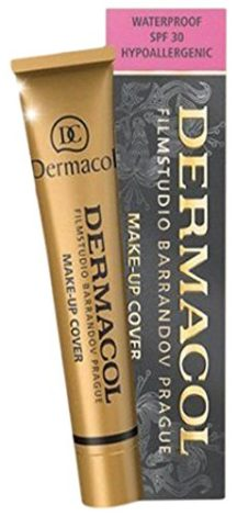 Dermacol Make-up Cover - Water-Proof Hypoallergenic for all Skin Types, nr 208