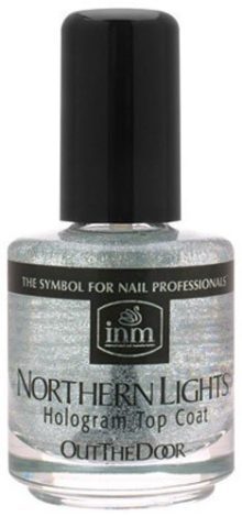 Northern Lights Hologram Top Coat by INM