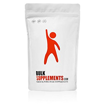BCAA Branched Chain Essential Amino Acids Powder by BulkSupplements (500 grams) | 100% Pure 2:1:1 Instantized Formula | Pre/Post Workout Bodybuilding Supplement | Boost Muscle Growth