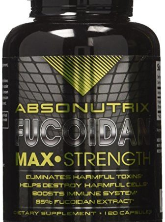 Absonutrix Fucoidan Pure-brown seaweed extract laminaria Japonica cell immunity (120 capsules)