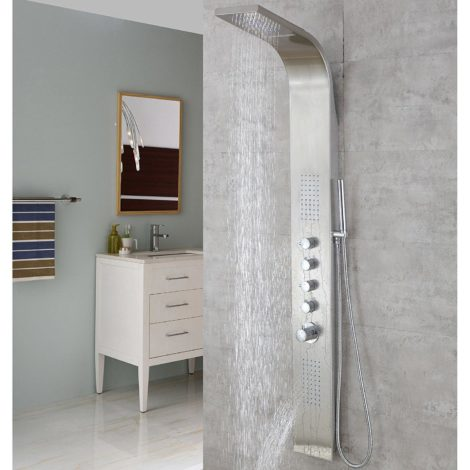 Best shower panel 2018 reviews guatemala times for Decor star 004 ss