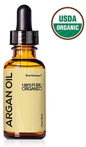 USDA Pure Organic Argan Oil 1 Ounce: Use As Hair Treatment, Acne Treatment Oil, Cuticle Treatment Nail Care, And Moisturize Dry Skin. Pure Vegan, Unrefined Natural Moroccan Oil With No Additives.