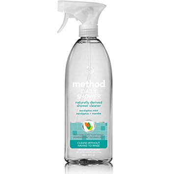 Method Naturally Derived Daily Shower Cleaner Spray, Eucalyptus Mint, Ounce