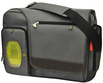 Fisher Price Fisher Price Fastfinder Deluxe Messenger Bag, Grey