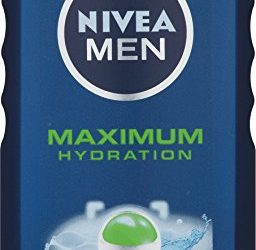 NIVEA Men Maximum Hydration 3 in 1 Body Wash 16.9 Fluid Ounce (Pack of 3)